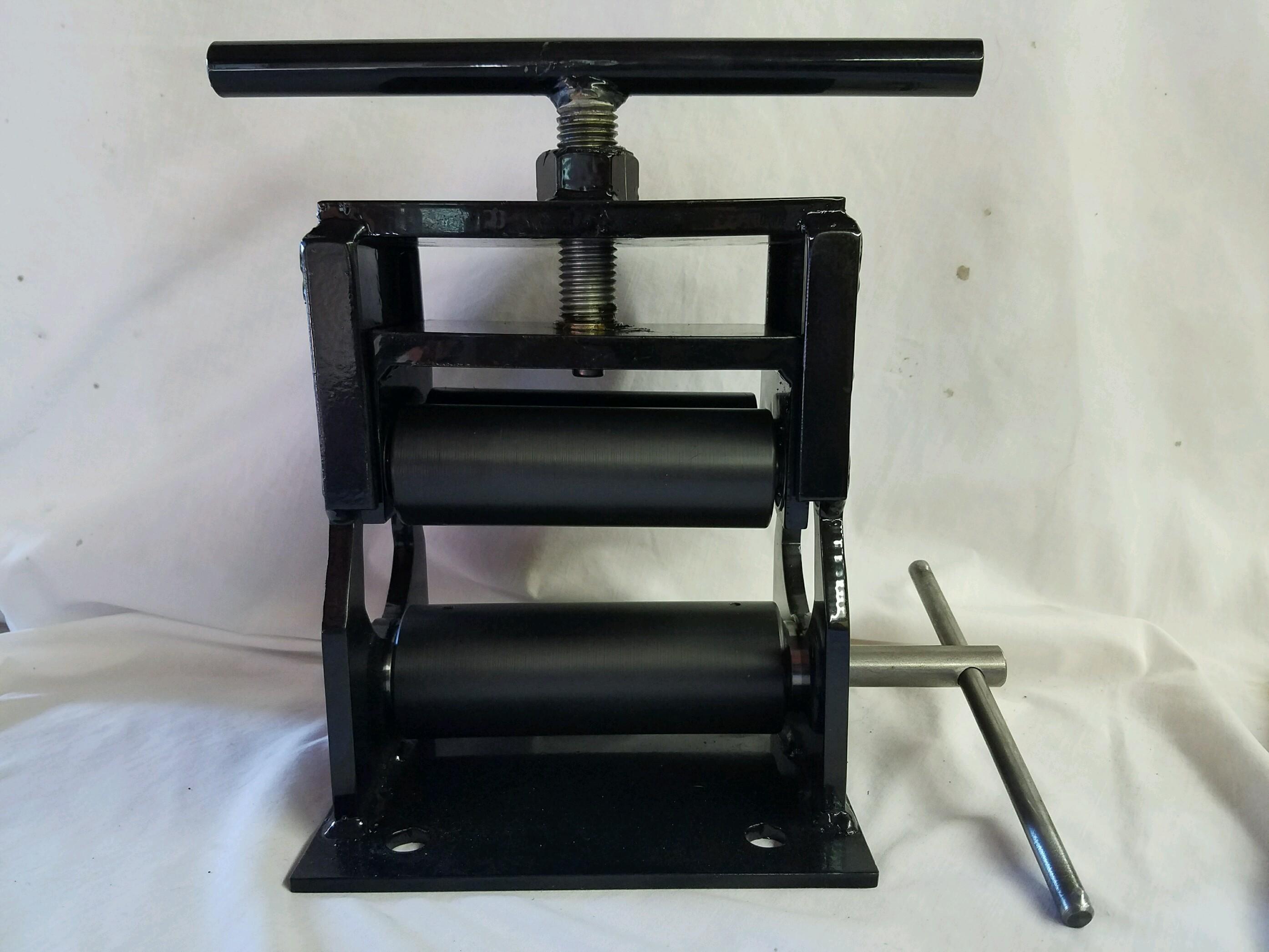 baseball bat rolling machine