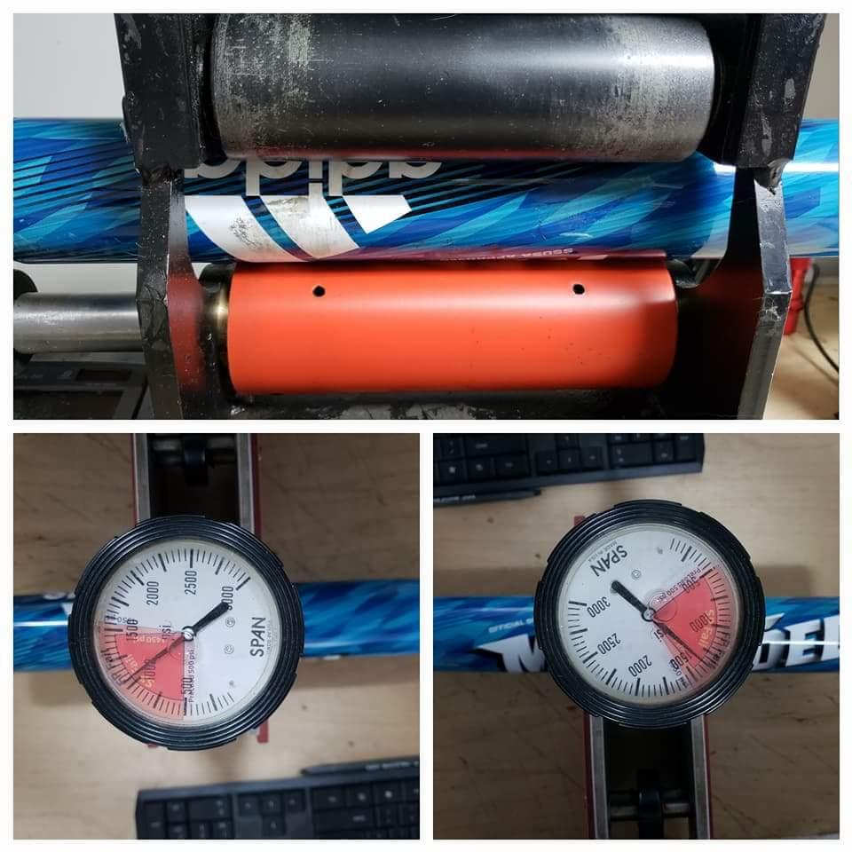 Heated Bat Rolling Amp Compression Testing Service
