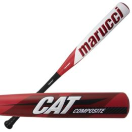 heat rolled marucci cat composite baseball bat