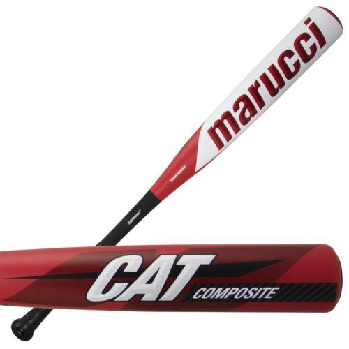 heat rolled marucci cat composite baseball bat