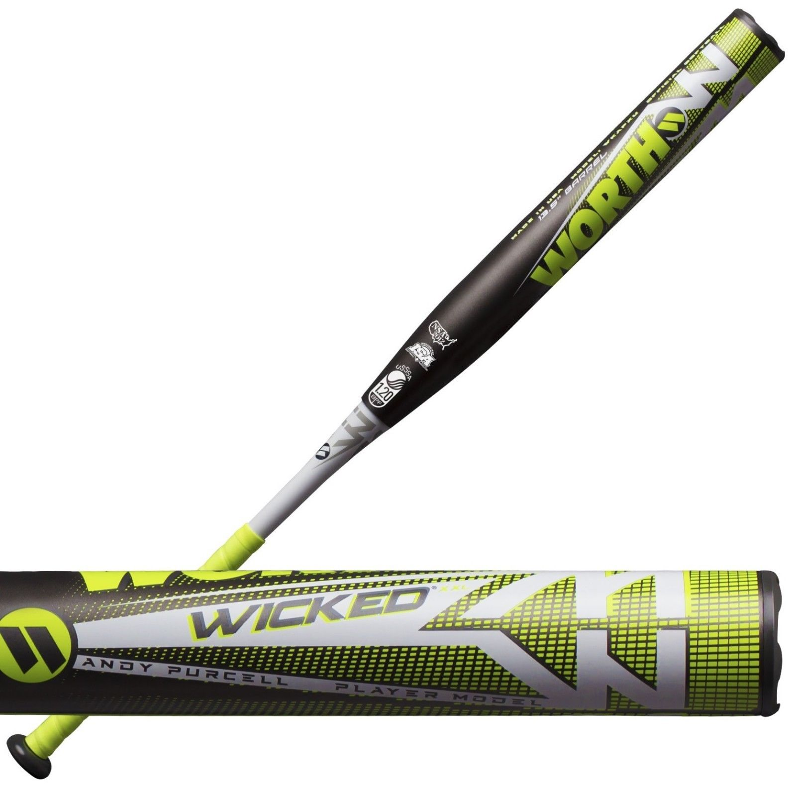 2019 Worth Wicked Andy Purcell Xxl Wkapxu Usssa Slowpitch