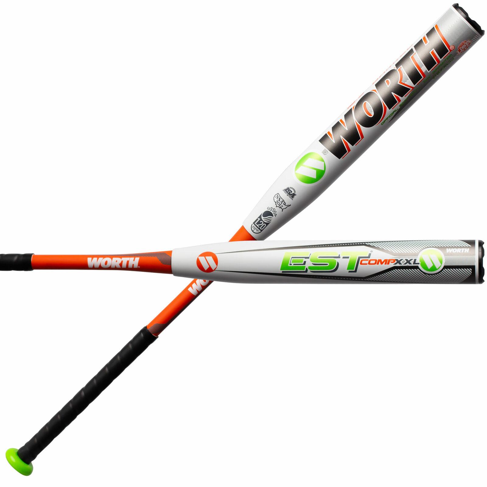 NEW 2019 Worth Est Comp XXL End Loaded WEXXLU USSSA Slowpitch Softball Bat