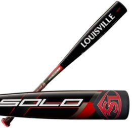 rolled solo baseball bat game ready