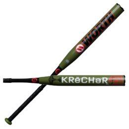 heat rolled worth krechar softball bat