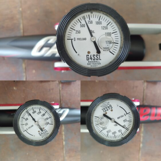 Marucci Cat9 Compression Test bat rolling