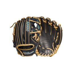 Designed for young players and middle infielders with smaller hands, the iconic 2022 A2000 SCDP15SS features Pedroia Fit construction with a narrower wrist opening and shorter finger stalls. Spin Control Technology on the Black Pro Stock leather palm and I-Web increases friction between the ball and the glove, allowing for sure outs and quick transfers. The Black SuperSkin reduces glove weight while improving durability, and Blonde laces and binding tie it all together. 11.5 Inch Pedroia Fit Model I Web Pro Stock Leather SuperSkin ComfortPro Fit Spin Control Technology Dual Welting